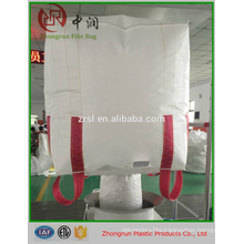 1 ton bulk bag, U panel big bag , 100% new virgin PP bag with PE liner