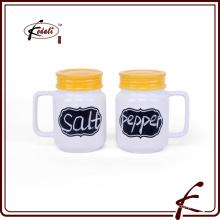 2015 venda quente materiais cerâmicos sal e pimenta shaker