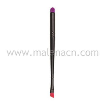 Dome Eyeshadow &Angled Brow Cosmetic Brush for Makeup