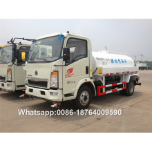 Howo 116hp Truk Air 4x2 5000 Liter