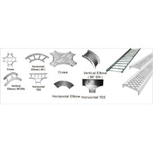Steel cable tray accessories
