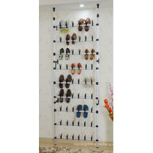 Настенный металлический стеллаж для обуви на 30 пар, прокатки обуви вешалки