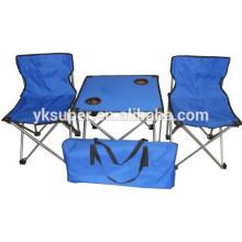 Fornecedores da China, cadeiras de mesa de camping dobráveis de boa qualidade