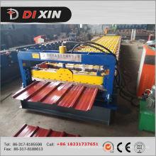 China fabricante Dixin Color / hoja de techos de acero galvanizado que forma la máquina