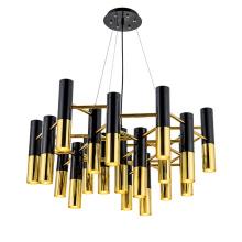 Modern Nordic design aluminum gold black led pendant light