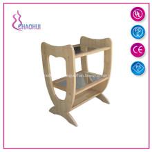 Beauty Salon Cheap Wood Trolley
