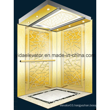 Passenger Elevator with Hairline Stainless Steel (JQ-N028)