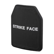 Placas balísticas ultraligeras de nivel III Armadura corporal de placa balística antibalas que se adapta a los portadores de placa estándar