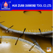 250mm Yellow Color Blade Stone Cutter Saw with U Slot for European Market