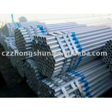 seamless galvanized steel pipe/ ASTM A53/BS1387/Gr B