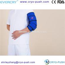 Soporte ajustable para el codo reutilizable / banda deportiva con correa