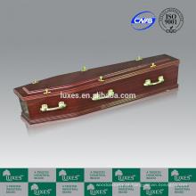 Desconto caixões on-line LUXES Sapele papel folheado caixões A30-GHT