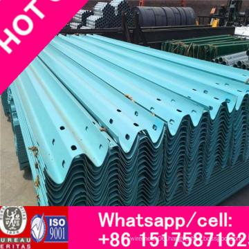 Anti-Collision Waveform Guardrail, Galvanized Welded Fence Panel