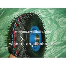 10 inch Pneumatic Rubber Wheel 3.50-4