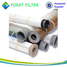 FORST PTFE Pleated Nomex Staubbeutel Filter Cage Lieferant