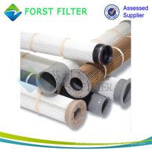 FORST PTFE plisado Nomex polvo bolsa de filtro de la jaula Proveedor