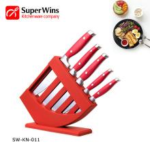 Juego de cuchillos de cocina de acero inoxidable Super Sharp Cubiertos