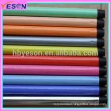 Colorful Smooth Iron Metal PVC Cover Extension Telescopic Broom Handle
