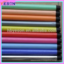 Красочный Гладкий металлический металлический ПВХ Расширение крышки Телескопическая ручка для метлы