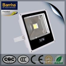 Estándar europeo de fundición de aluminio al aire libre impermeable lámpara led