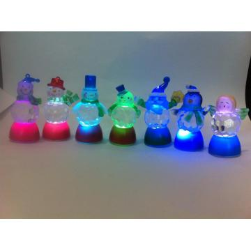 35CM LED Angular Ball Body Snowman Lamp