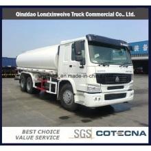 Camión cisterna de agua 20000L Sinotruk HOWO 6X4 Tanker 290HP