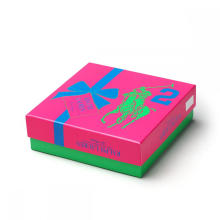 Boite cosmétique de Pakcaging de marque d'hommes avec le plateau de boursouflure
