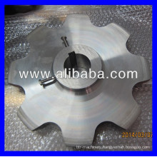 Stainless steel #304 large sprocket with set screws