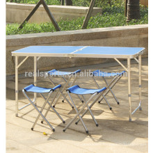 2018 Portable Folding Table Handles Bamboo Folding Table