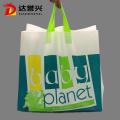 waterproof loop handle plastic bag
