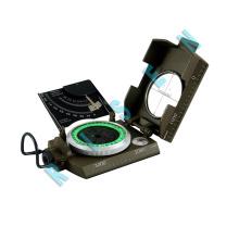 2018 Neuankömmling Mini Pocket Professional Magnetic Geology Militärarmeekompass für Outdoor-Sportcamping Wandern