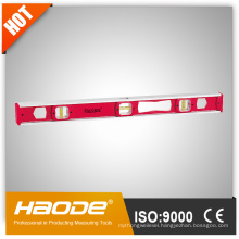 I Beam level with magnet strips Aluminum reinforced frame