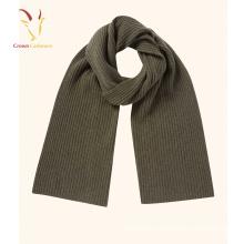 Couleur unie Design épais laine écharpe solide chaud