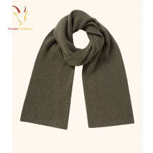 Solid Color Design Woolen Thickness Warm Solid Scarf