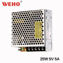Única saída 25W 5V Swith Mode Power Supply (S-25-5)