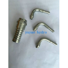 NPT Male Stainless Steel Hydraulic Hose Fitting