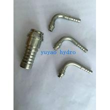 Raccord de tuyau hydraulique en acier inoxydable mâle NPT
