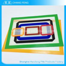 Promocional silicone antiaderente várias utilização durável, esteira de cozimento