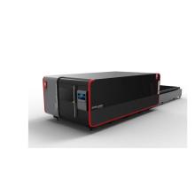 Máquina de corte a laser de fibra metálica fechada 3015