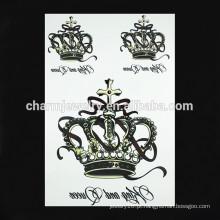 OEM atacado imperial tatuagem coroa braço tatuagem braço tatuagem para a senhora W-1090