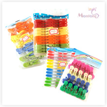 Пластиковые колышки, прищепки для белья, 24 шт набор колышки