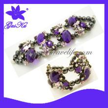 2013 Hot Alloy Jewelry Set, Alloy Bracelet, Bangles, Necklace Sets (Gus-AB-021)