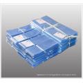 Sacs plats plats en polychlorure de vinyle rétractable avec trous de ventilation pour boîtes et articles Emballage avec approbation de la FDA (XFB07)