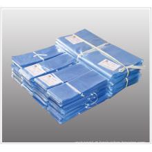 Os sacos lisos transparentes do psiquiatra do calor do cloreto de Polyvinyl da ceia com furos de respiradouro para caixas e artigos que envolvem com FDA aprovaram (XFB07)