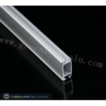 Perfiles de riel inferior de aluminio con recubrimiento en polvo
