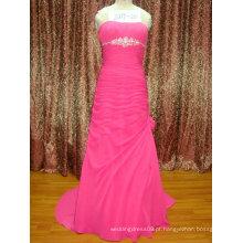 Pêssego rosa com vestidos de festa coquetelados DSC03556