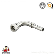 (87643) Fitting 45 Degree SAE Flange 6000 Psi Interlock Hose Fittings