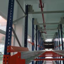 Sistema automático de estante de plataforma de lanzadera