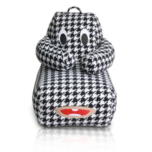 Animal Pattern kids bean bag perezoso sofá silla