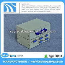Manuell 4 Port 4 Way VGA Switch Box / VGA Monitor Sharing Switch Box Adapter